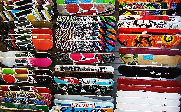 Skateboards Ibiza